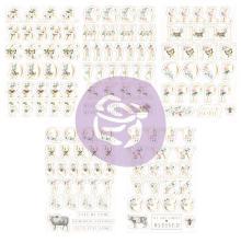 Prima Alphabet Stickers 5/Sheets - Spring Farmhouse