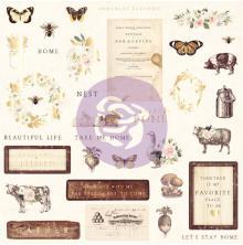 Prima Ephemera Cardstock Die-Cuts 33/Pkg - Spring Farmhouse 1