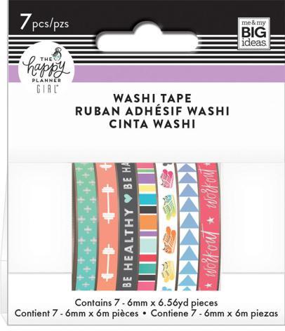 Me & My Big Ideas Happy Planner Washi Tape - Healthy Hero