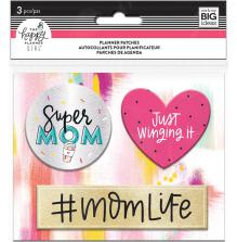 Me & My Big Ideas Happy Planner Patches - Super Mom