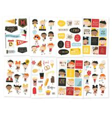 Simple Stories Say Cheese 4 Stickers 4X6 8/Pkg - Happy Kids