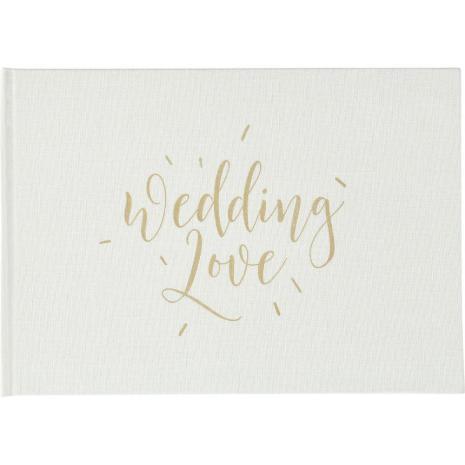 Kaisercraft Style Guest Book - Wedding Love