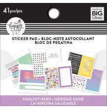 Me & My Big Ideas Happy Planner Tiny Sticker Pad - Healthy Hero