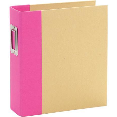 Simple Stories 6x8 SNAP Binder - Pink