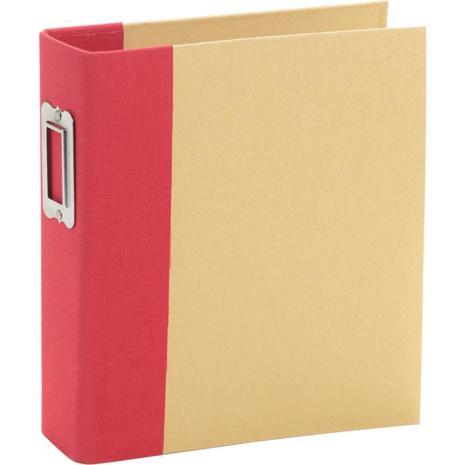 Simple Stories 6x8 SNAP Binder - Red