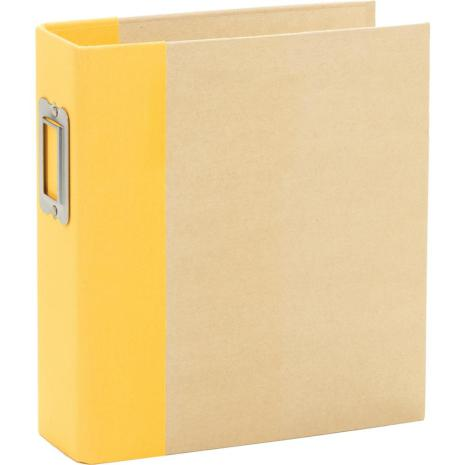 Simple Stories 6x8 SNAP Binder - Yellow