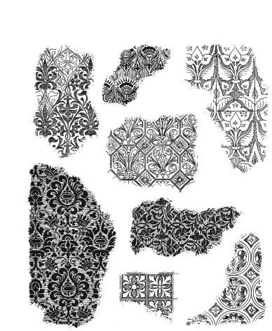 Tim Holtz Cling Stamps 7X8.5 - Fragments