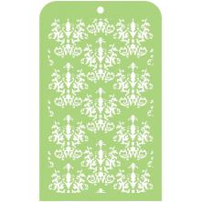 Kaisercraft Mini Designer Templates 3.5X5.75 - Royal Damask