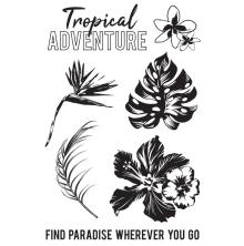 Kaisercraft Clear Stamps 6X4 - Paradise Found