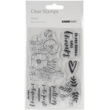 Kaisercraft Clear Stamps 6X4 - Blessed