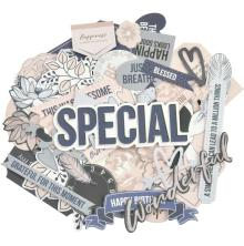 Kaisercraft Collectables Cardstock Die-Cuts - Breathe