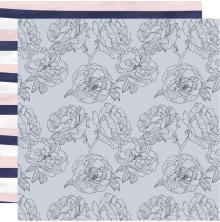 Kaisercraft Breathe Double-Sided Cardstock 12X12 - Blue Blush
