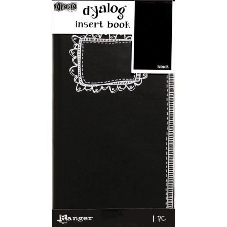 Dyan Reaveleys Dylusions Dyalog Insert Book - Black #2