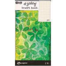 Dyan Reaveleys Dylusions Dyalog Insert Book - Grid #2