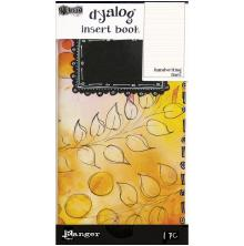 Dyan Reaveleys Dylusions Dyalog Insert Book -  Handwriting Lines #2