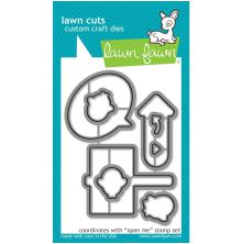Lawn Fawn Custom Craft Die - Open Me