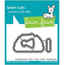 Lawn Fawn Custom Craft Die - Year Nine