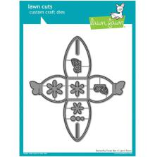 Lawn Fawn Custom Craft Die - Butterfly Treat Box