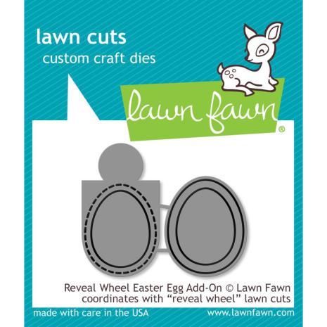 Lawn Fawn Custom Craft Die - Reveal Wheel Easter Egg Add-On