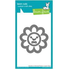 Lawn Fawn Custom Craft Die - Outside In Stitched Flower