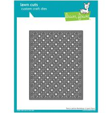 Lawn Fawn Custom Craft Die - Fancy Lattice Backdrop