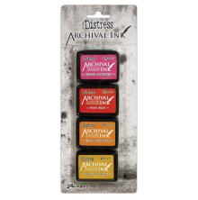 Tim Holtz Distress Archival Mini Ink Kit - Kit #1