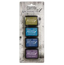 Tim Holtz Distress Archival Mini Ink Kit - Kit #2