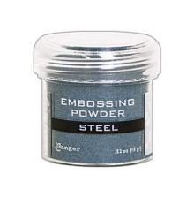 Ranger Embossing Powder 15gr - Steel Metallic
