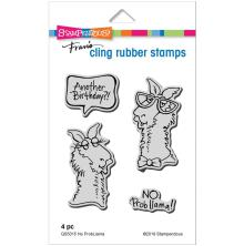Stampendous Cling Stamp - No Probllama UTGÅENDE
