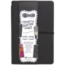 Dylusions Black Journal - Small