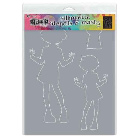Dylusions Stencils 5X8 - Maisie