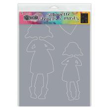 Dylusions Stencils 5X8 - Martha