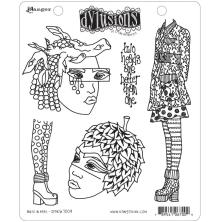 Dylusions Cling Stamps 8.5X7 - Nuts In May