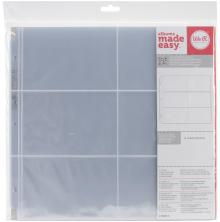 We R Memory Keepers Page Protectors 12X12 10/Pkg