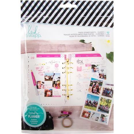 Heidi Swapp Memory Planner Photo Paper 12/Pkg - Classic