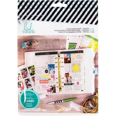 Heidi Swapp Memory Planner Photo Paper 12/Pkg - Personal