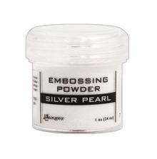 Ranger Embossing Powder 34ml - Silver Pearl