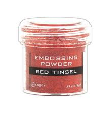 Ranger Embossing Powder - Red Tinsel