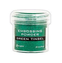Ranger Embossing Powder 18g - Green Tinsel