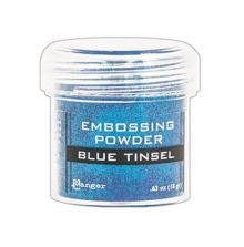 Ranger Embossing Powder 18g - Blue Tinsel
