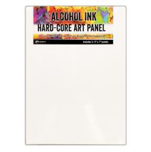 Tim Holtz Alcohol Ink Hard Core Art Panel 3/Pkg - 5X7