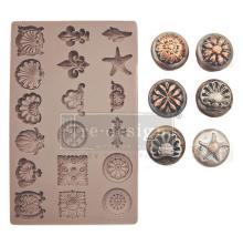 Prima Redesign Mould 5X8 - Seashore Treasures