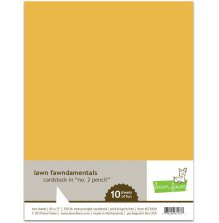 Lawn Fawn Cardstock - No. 2 Pencil