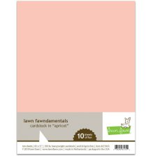 Lawn Fawn Cardstock - Apricot