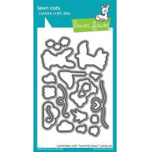 Lawn Fawn Custom Craft Die - Butterfly Kisses