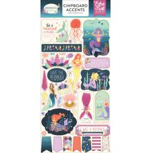 Echo Park Mermaid Dreams Chipboard 6x13 - Accents UTGÅENDE