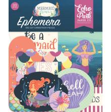 Echo Park Mermaid Dreams Cardstock Die-Cuts 33/Pkg - Ephemera UTGÅENDE