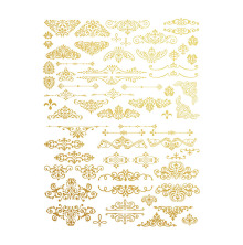 Prima Re-Design Collection Gold Transfer - Gilded Ornate Flourishes