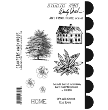 Wendy Vecchi Cling Stamps 6 1/2 x 8 3/4 - Art From Home