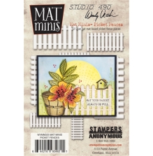 Wendy Vecchi Mat Minis - Picket Fences
